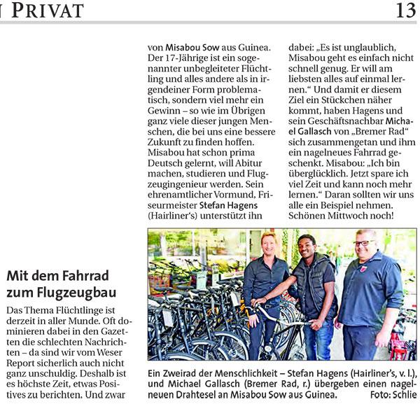 Aktuelles über Unsere Fahrräder Aus Bremen Den Online Fahrrad